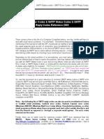 SMTP Server Status and Error Codes