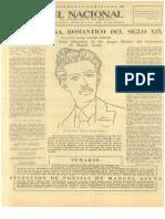 El Nacional (Homenaje a Manuel Acuña)