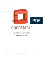 Open Stack Welcome Guide