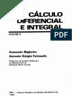 Calculo Diferencial e Integral II - Armando Righetto e Antonio Sergio Ferraudo 1