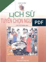 Lịch Sử Tuyển Chọn Người Đẹp - Cao Tự Thanh