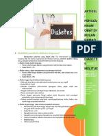 Artikel - Penggunaan Obat Di Bulan Ramadhan Pada Pasien Diabetes Melitus