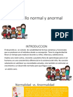 desarrollo normal y anormal original