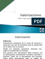 LLH - CIV284 - Valorizaciones