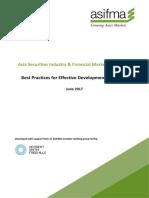 Asifma Best Practices for Effective Development of Fintech (June 2017)