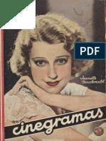 Cinegramas (Madrid) a1n6, 21-10-1934