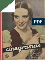Cinegramas (Madrid) a1n3, 23-9-1934