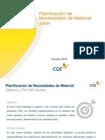 Manual de Capacitación - MRP