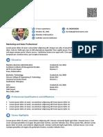 Sample the Seeker Resume