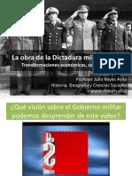 La dictadura militar chilena