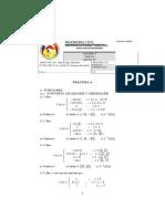 Ejercicios de Funciones Algebra UATF