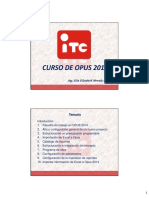 Curso de Opus 2014 Parte i Hp