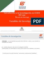 Variables de Investigacion OK1