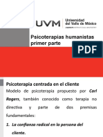 Psicoterapias humanistas