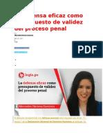 La defensa eficaz como presupuesto de validez del proceso penal.docx