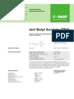 Tert Butyl Acrylate (BASF)