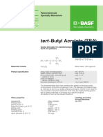 Tert Butyl Acrylate (BASF)