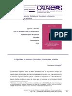 Leer Los Desaparecidos en La Lit Infantil Argentina_Sotelo