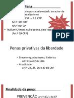 Penas Não Privativas Da Liberdade - Versão Final