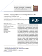 2. IT Control Weakness Ang Performance