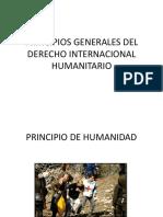 Principios Generales Del Derecho Internacional Humanitario - Ana