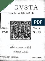 Revista Augusta Abril 1920