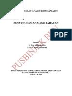 2 Penyusunan Analisis Jabatan