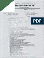 Surat Edar Kenaikan Pangkat Tmt. 1-10-2017