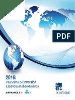 Inversion Espanola en Latam