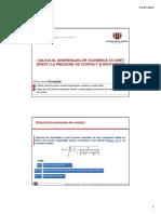 Mecanisme Si Organe de Masini 1 - Cursul 13