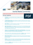 JUL 30 KBC Sunrise Mkt Commentary