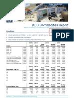 JUL 30 KBC Commodities Report