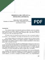 Presencia Del Niño  Mitologia Asturiana -Cobo