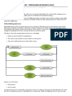 Os Process Scheduling