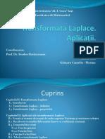 Transformata Laplace - Ppt