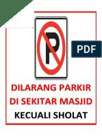 (Sueb) Parkir No