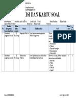 Contoh KISI DAN KARTU SOAL.docx