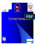 TTAP 2007 - Concrete Intersections