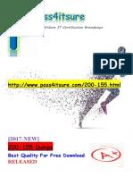 New Pass4itsure Cisco 200-155 Dumps PDF - DCICT Introducing Cisco Data Center Technologies