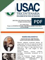 Usac Tema 6 Carlos Marx