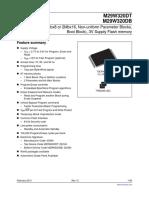 Flash memory M29W320DT70N6E-Micron.pdf