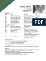 Nicholas Tamagna - Countertenor - Resume