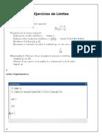 Limites Con Matlab