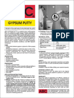 ABC Gypsum Putty
