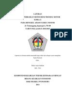 Laporan Perbaikan Sistem Rem Tromol