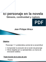 GRUPO 2 - MIRAUX - El Personaje en La Novela