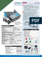 Metrel MI2124 Datasheet (en)