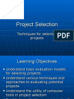 Project Selection Day 4