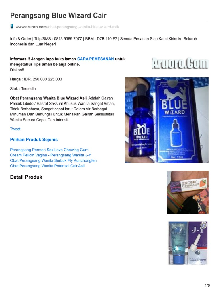 beda blue wizard asli dan palsu www klinikobatindonesia com