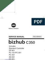 Bizhub c350